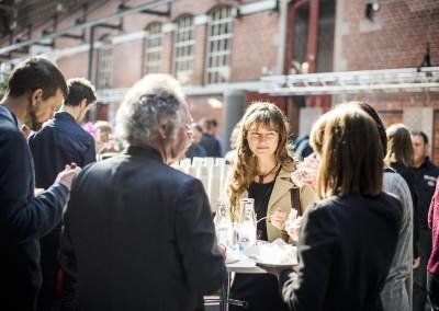 Mingel med konstnären Marie Louise Kold, skaparen av Plåtpsiet 2015