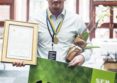 Årets plåtslagare 2015 Tony Althén
