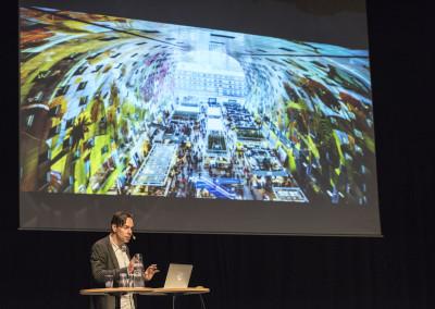 Jacob van Rijs från MVRDV inspirerade alla med sina häpnadsveckande metallprojekt